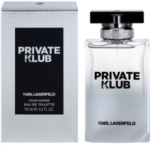 Karl Lagerfeld Private Klub Eau de Toilette pentru barbati 100 ml