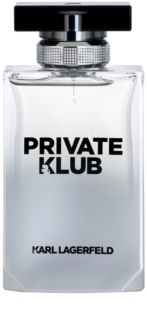 Karl Lagerfeld Private Klub Eau de Toilette para homens 100 ml