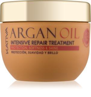 KATIVA Argan Oil tratament intens regenerativ pentru un par stralucitor si catifelat