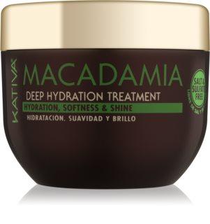KATIVA Macadamia regenerirajuća i hidratantna maska za kosu za sve tipove kose