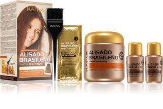 Kativa Keratina coffret cosmétique (pour fortifier les cheveux)