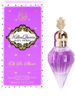Katy Perry Killer Queen Oh So Sheer Eau de Parfum voor Vrouwen  30 ml