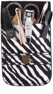 Kellermann Manicure zestaw do perfekcyjnego manicure zebra