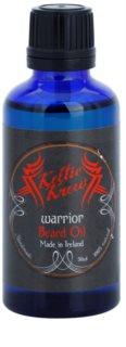 Keltic Krew Warrior óleo para barba com o aroma de sândalo