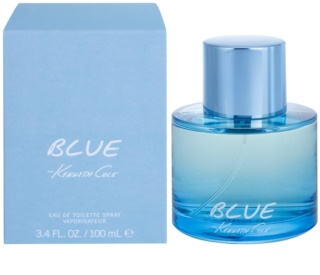 Kenneth Cole Blue Eau de Toilette para homens 100 ml