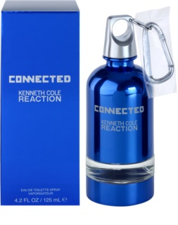Kenneth Cole Connected Reaction Eau de Toilette voor Mannen 125 ml