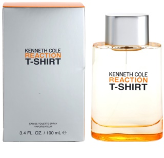 Kenneth Cole Reaction T-shirt Eau de Toilette voor Mannen 100 ml