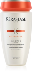 Kérastase Nutritive Bain Satin 2 Nourishing Shampoo for Normal to Strong, Medium-Dry Hair
