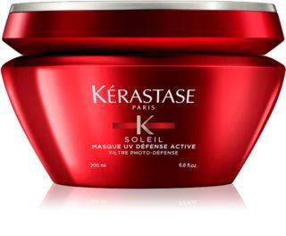 Kérastase Soleil maseczka regenerująca do włosów osłabionych działaniem chloru, słońca i słonej wody