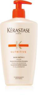 Kérastase Nutritive Bain Satin 2 intensywny szampon odżywczy do włosów suchych