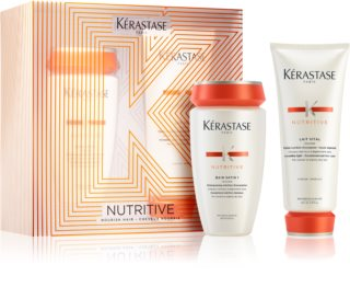 Kérastase Nutritive Bain Satin 1 Cosmetic Set (For Normal To Dry Hair)