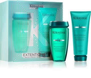 Kérastase Résistance Bain Extentioniste Cosmetic Set (For Hair Roots Strengthening And Hair Growth Support)