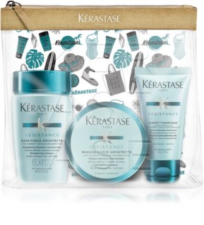 Kérastase Résistance Force Architecte Cosmetic Set For Damaged Hair