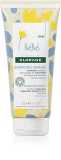 Klorane Bébé Calendula champú para niños para facilitar el peinado