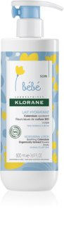 Klorane Bébé Calendula Moisturizing Body Lotion for Children from Birth