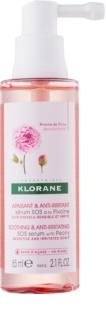 Klorane Peony sérum calmante para o couro cabeludo sensível e irritado