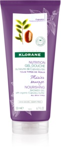 Klorane Cupuaçu Mûrier Sauvage gel de ducha nutritivo
