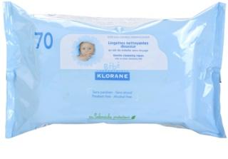 Klorane Bébé čistiace utierky pre deti