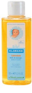 Klorane Bébé Calendula масажна олія для дітей