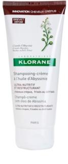 Klorane Crambe d'Abyssinie obnovující šampon pro vlnité vlasy