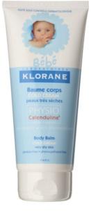 Klorane Bébé Cold Cream bálsamo corporal para pele muito seca