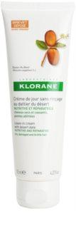 Klorane Dattier Niet Afspoelbaare Verzorgingscrème voor Breekbaar en Gestrest Haar