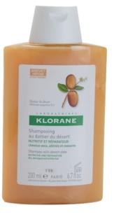 Klorane Desert Date champú para cabello castigado y quebradizo