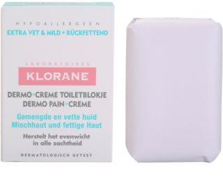 Klorane Dermo Pain Creme sapone per pelli miste e grasse