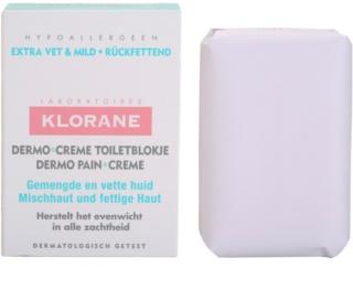 Klorane Dermo Pain Creme Seife für gemischte bis fettige Haut