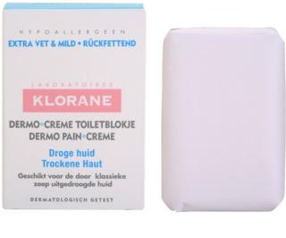 Klorane Dermo Pain Creme Seife für trockene Haut