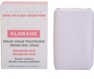 Klorane Dermo Pain Creme Zeep  voor Allergische Huid