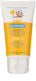 Klorane Enfant Kinder Zonnebrandcrème  SPF 50+
