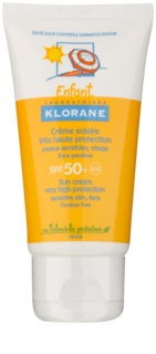 Klorane Enfant Sun Cream For Kids SPF 50+