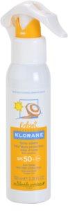 Klorane Enfant pršilo za sončenje za otroke SPF 50+