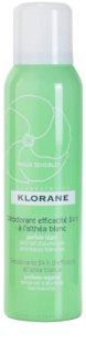 Klorane Hygiene et Soins du Corps desodorante en spray