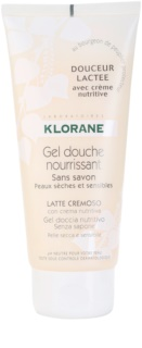 Klorane Hygiene et Soins du Corps Douceur Lactee tápláló tusoló gél