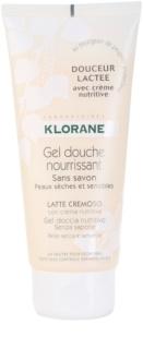 Klorane Hygiene et Soins du Corps Douceur Lactee nährendes Duschgel