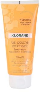 Klorane Hygiene et Soins du Corps Velours tápláló tusoló gél