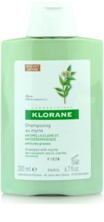 Klorane Myrte Shampoo  tegen Vette Schilfers