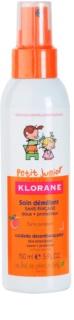 Klorane Petit Junior спрей  за по-лесно разресване на косата