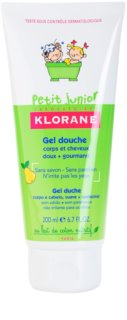 Klorane Petit Junior Shower Gel For Body And Hair With Aromas Of Pears