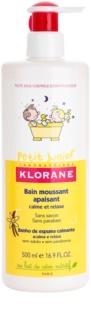 Klorane Junior espuma de banho para crianças