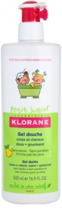 Klorane Junior Body and Hair Shower Gel With Aromas Of Pears