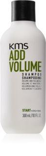 KMS California Add Volume σαμπουάν για απαλά και ισχνά μαλλιά για όγκο από τις ρίζες