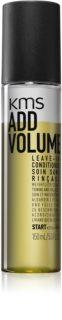 KMS California Add Volume κοντίσιονερ χωρίς ξέβγαλμα για όγκο από τις ρίζες