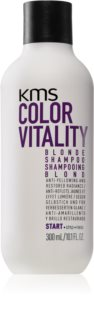 KMS California Color Vitality θρεπτικό σαμπουάν για ξανθά και με ανταύγειες μαλλιά