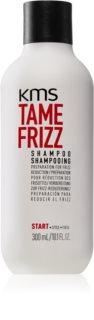 KMS California Tame Frizz λειαντικό σαμπουάν για ατίθασα και κρεπαρισμένα μαλλιά
