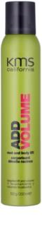 KMS California Add Volume laca de cabelo para dar volume