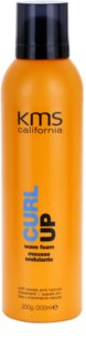 KMS California Curl Up Styling Mousse For Wavy Hair