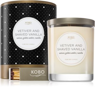 KOBO Coterie Vetiver and Shaved Vanilla